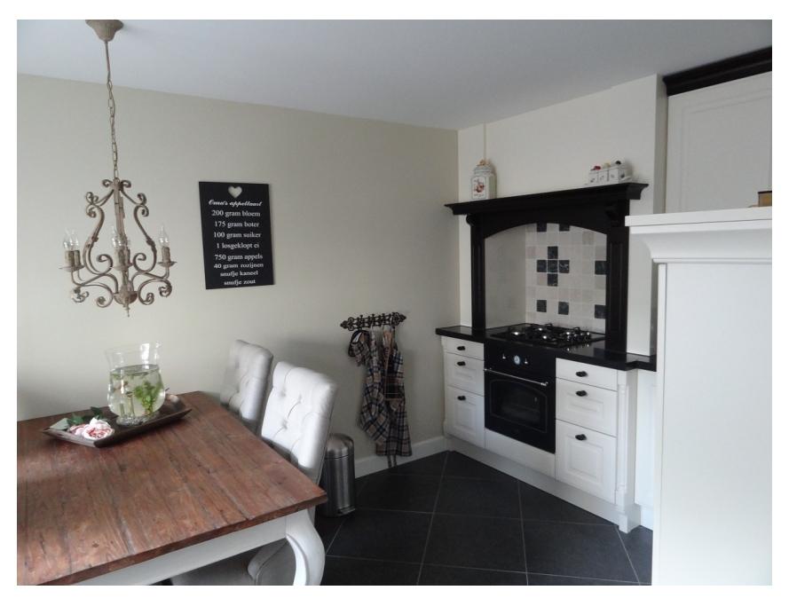 Schilderwerk schouw en keuken