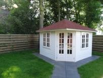 Schilderwerk tuinhuis bungalow Deil - schilder