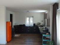 Schilder Aalst - spuitwerk wanden en plafond keuken