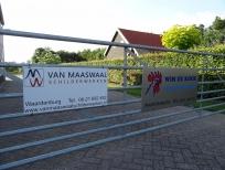 Schilderswerk bedrijfspand Waardenburg