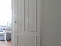 Schilderwerk deur